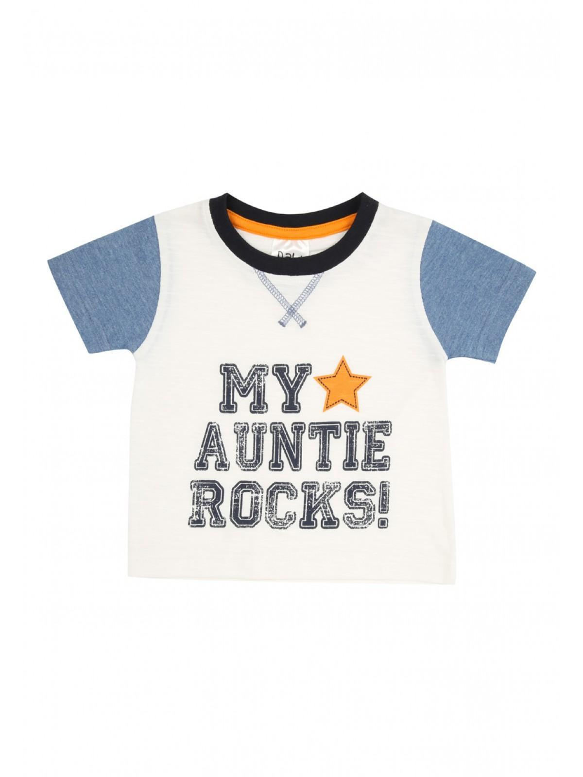 Boys aby Boys Auntie Rocks T Shirt