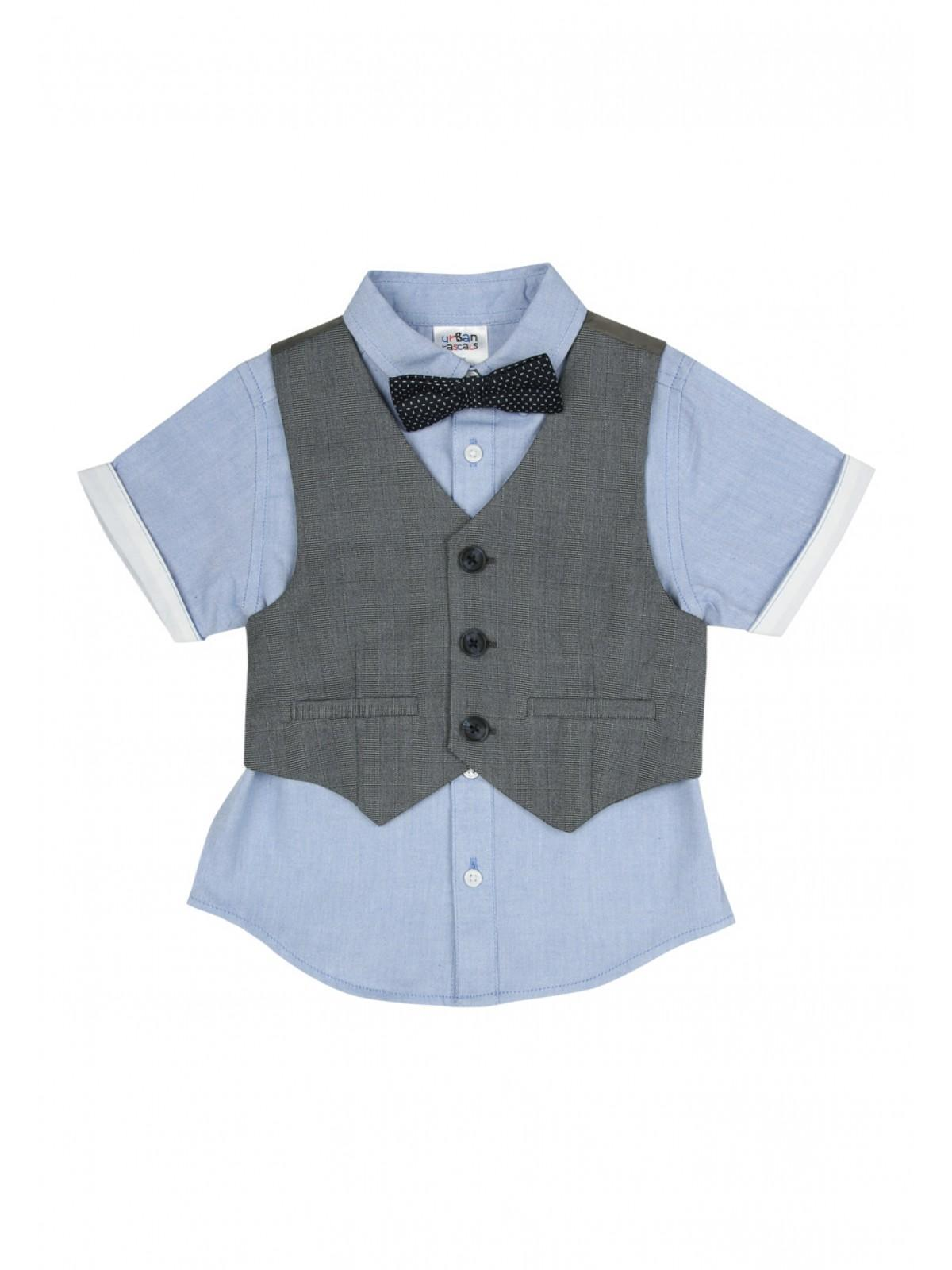 9ffd6a59aad5 Home; Younger Boys Waistcoat And Shirt Set. Back. PreviousNext