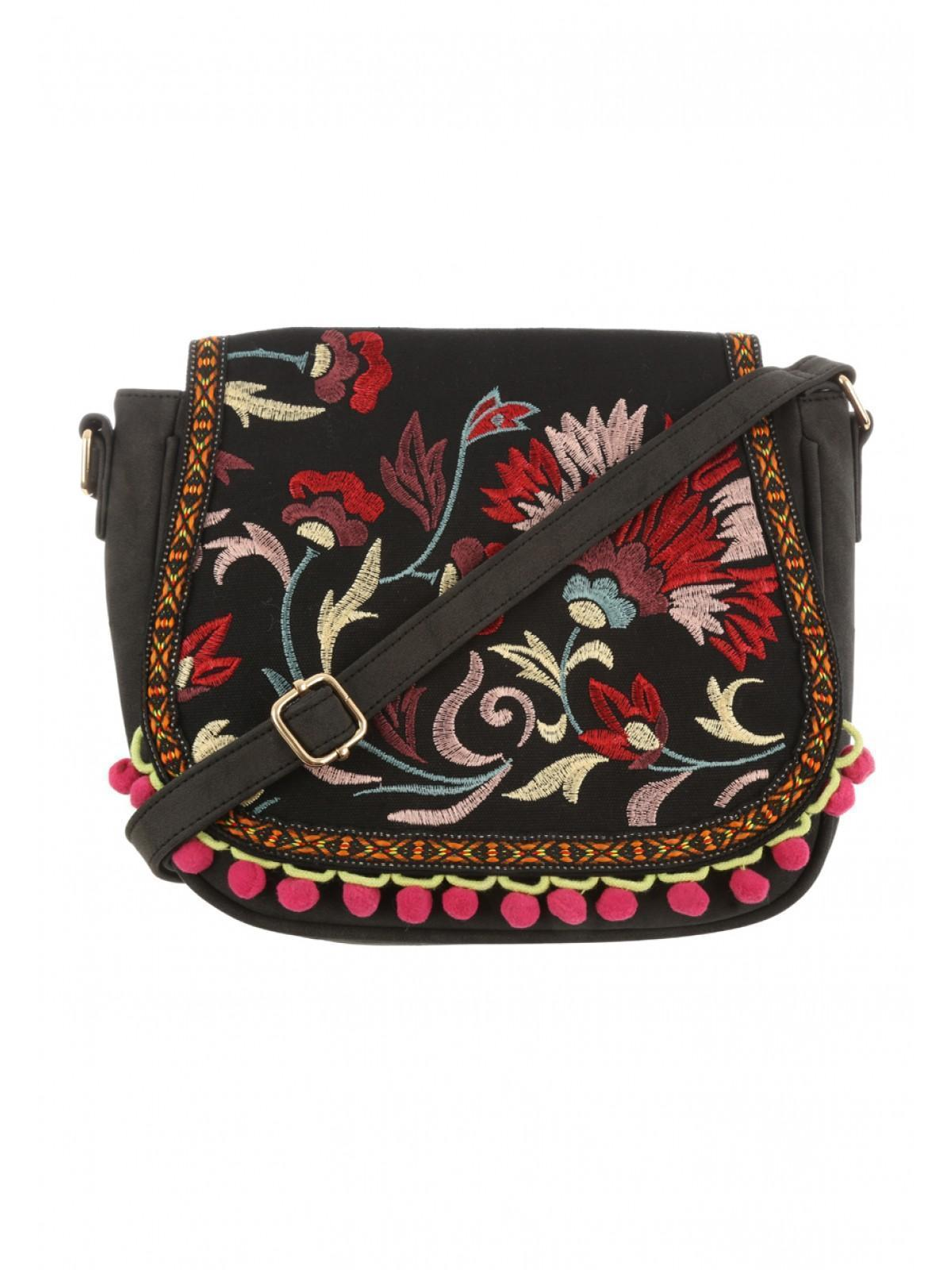 Goshico embroidered tote/shoulder bag FOLK ART http://mybags.co.