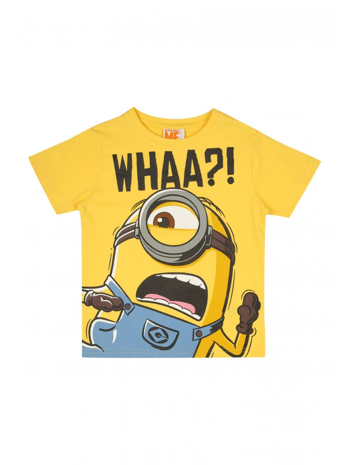 80e21714f Home; Younger Boys Yellow Minions T Shirt. Back. PreviousNext