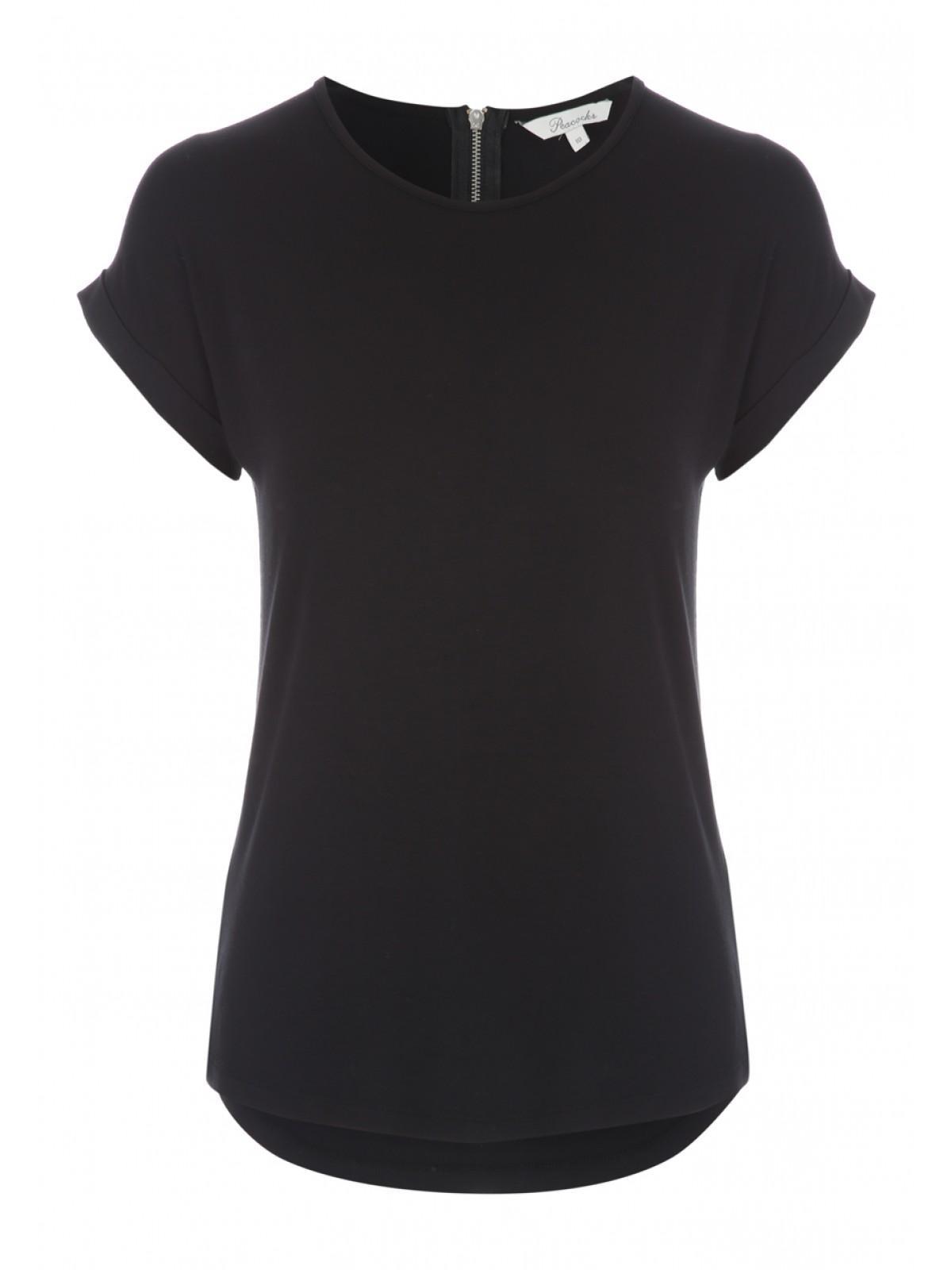Black t shirt zips - Black T Shirt Zips 48