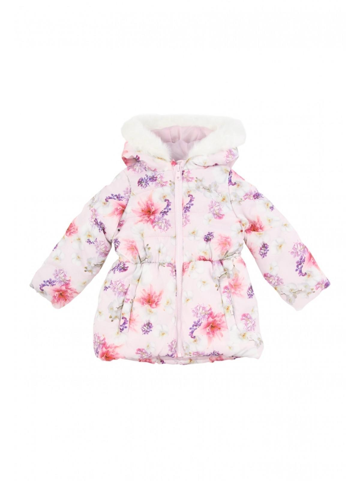 f229889de Younger Girls Floral Padded Coat