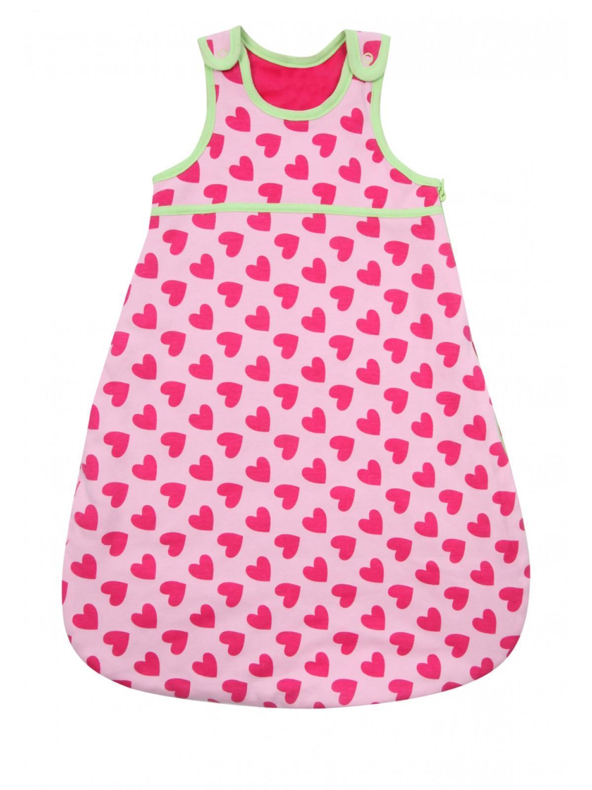 Girls Baby Girl Heart Sleeping Bag