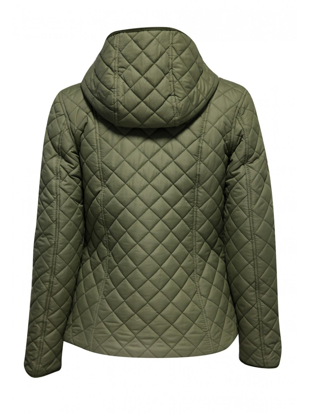 Hooded quilted parka womens