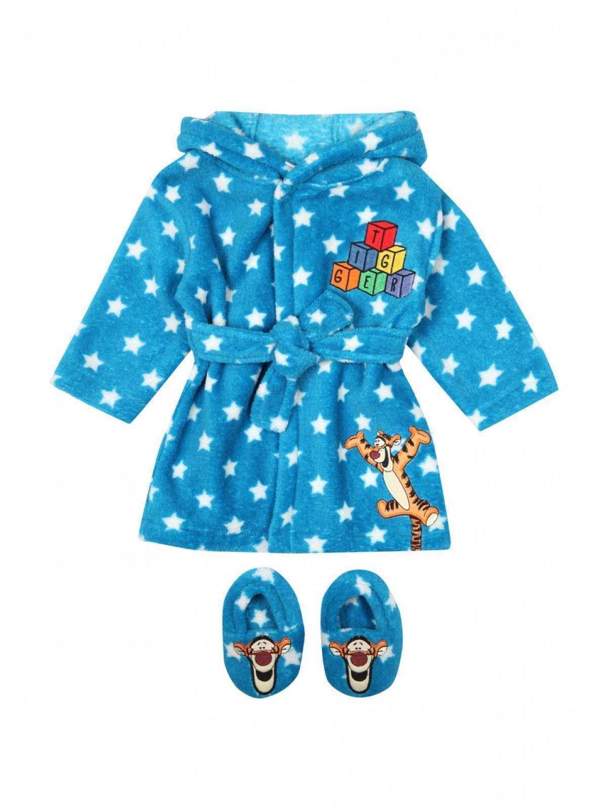 Boys aby Boys Disney Tigger Robe & Slippers Set