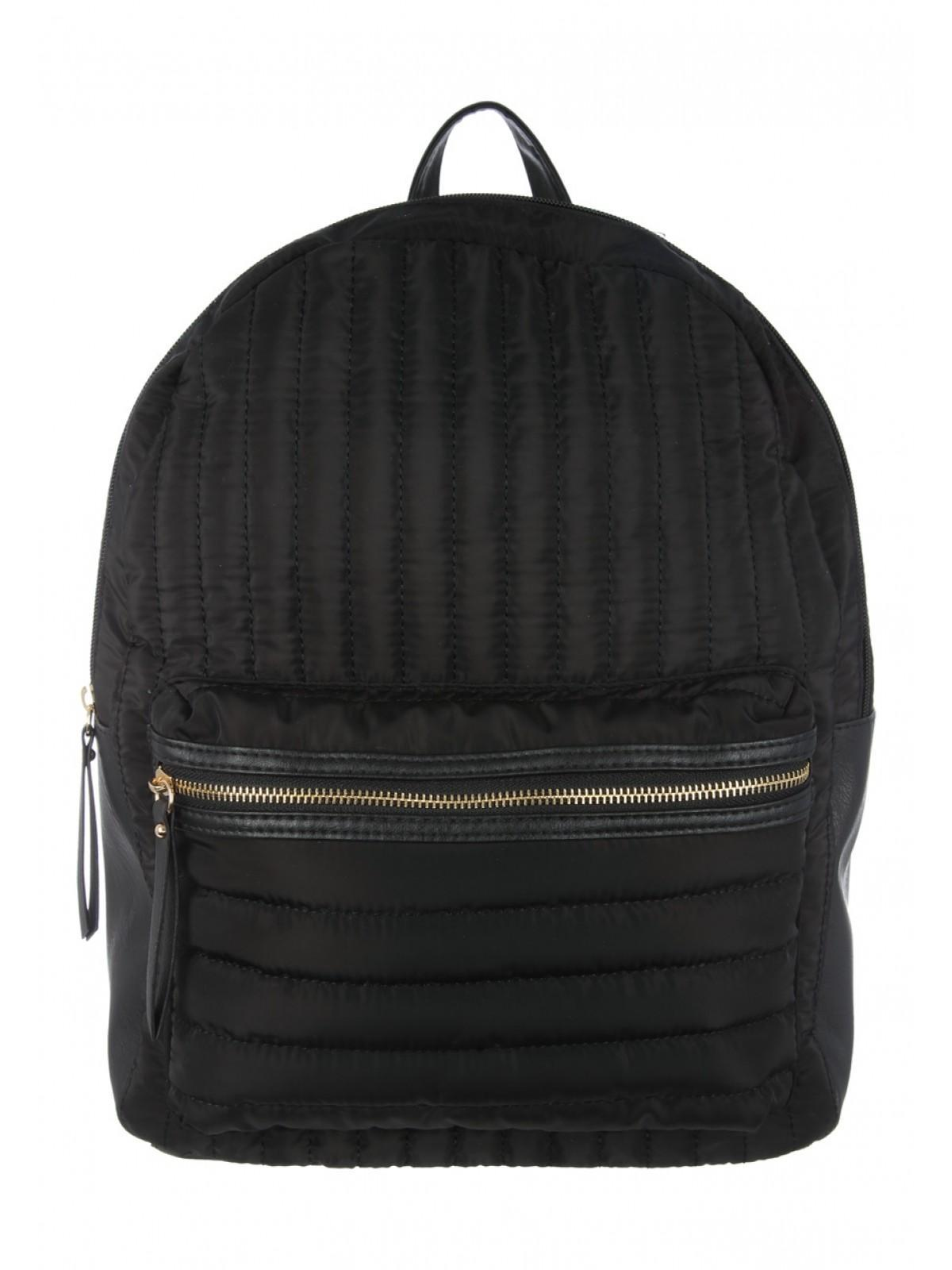 Womens Black Quilted Rucksack | Peacocks : black quilted rucksack - Adamdwight.com