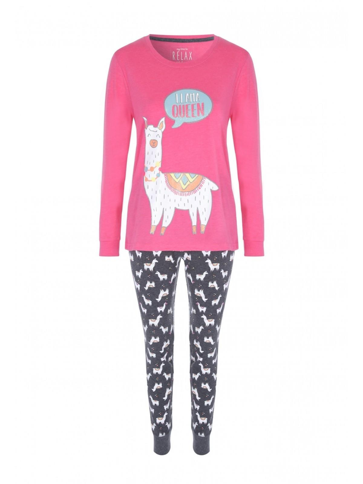 highly praised shoes for cheap online store Womens Pink Llama Pyjama Set
