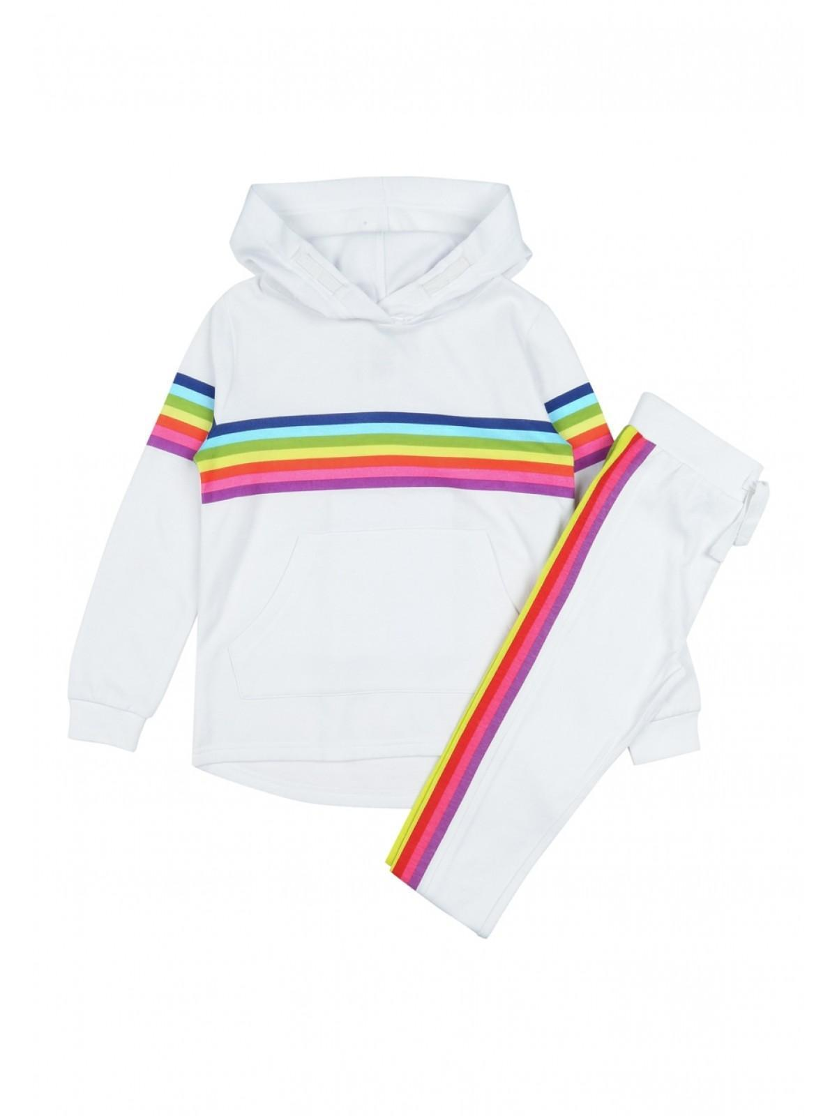 7be26e99f31c5 Home; Girls Rainbow Hoody Lounge Set. Back. PreviousNext