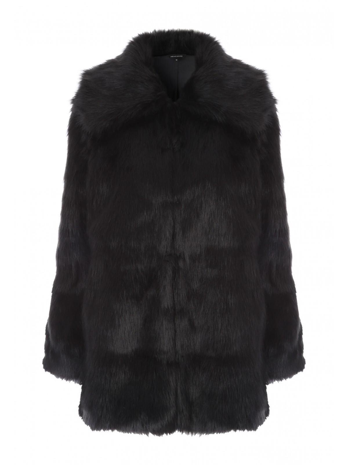 c9dc18d0a Home; Womens Black Faux Fur Coat. Back. PreviousNext