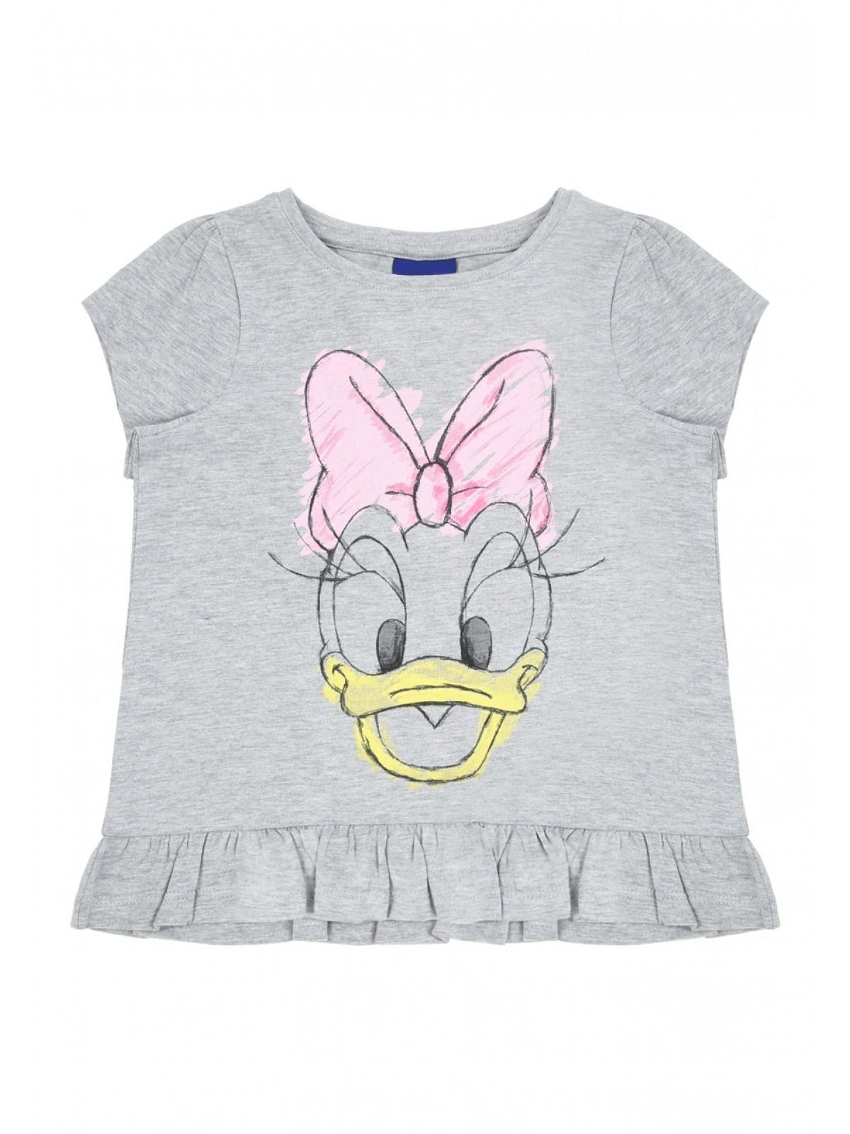 bb4cf656 Home; Younger Girls Grey Daisy Duck T-shirt. Back. PreviousNext
