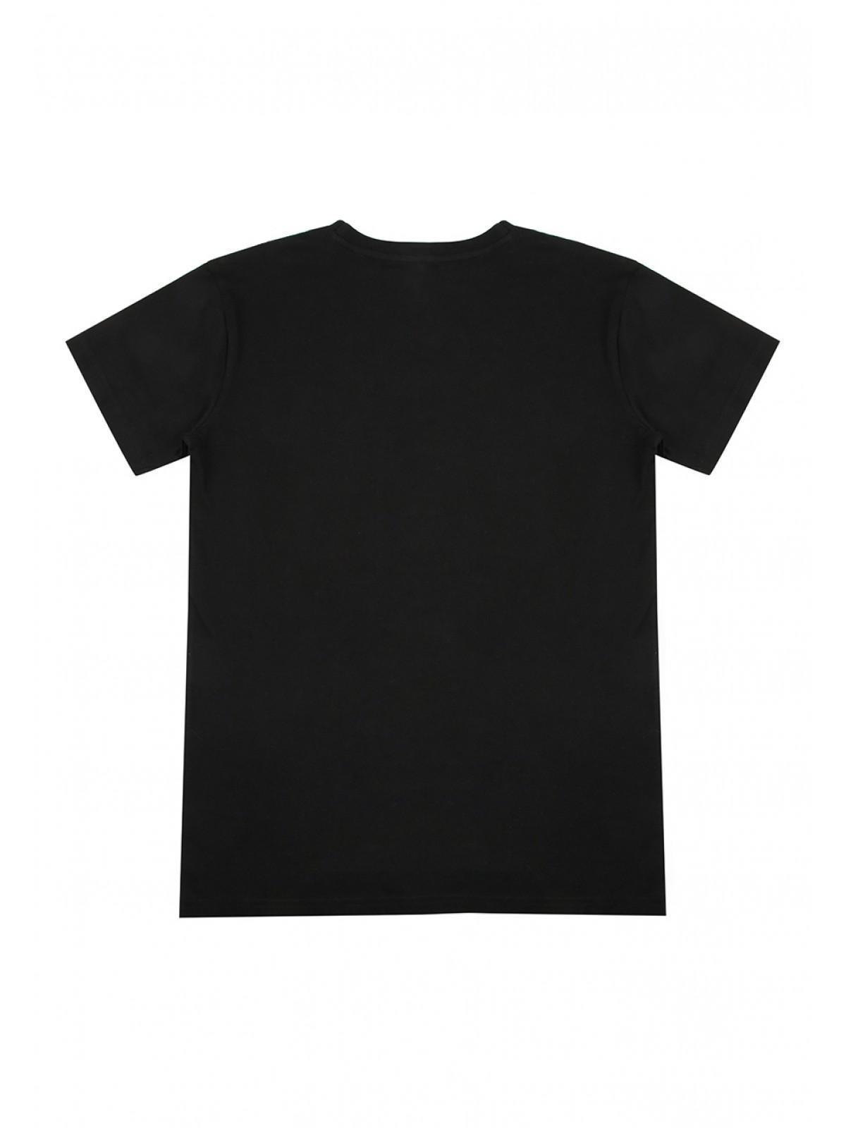 65120c702 Home  Older Boys Black Flip Sequin Floss T-shirt. Back. PreviousNext