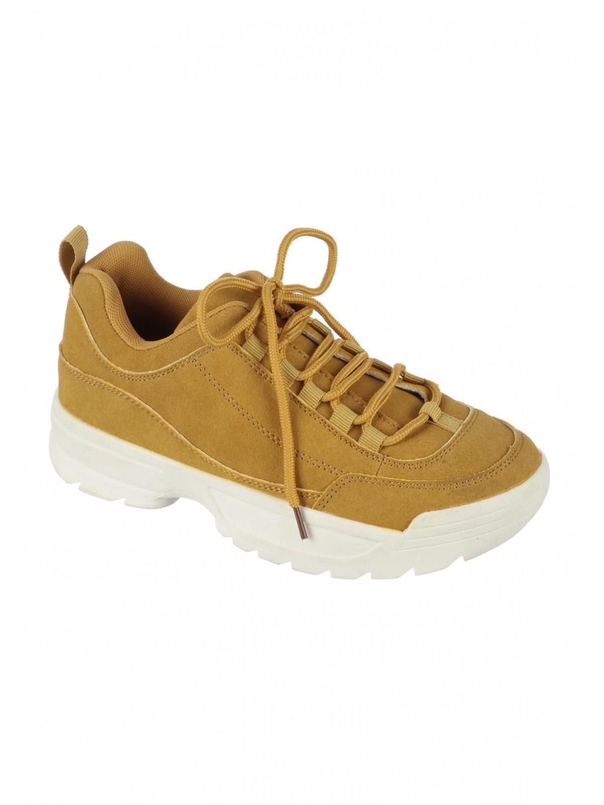 1e55c068ba921 Home; Womens Mustard Chunky Trainers. Back. PreviousNext