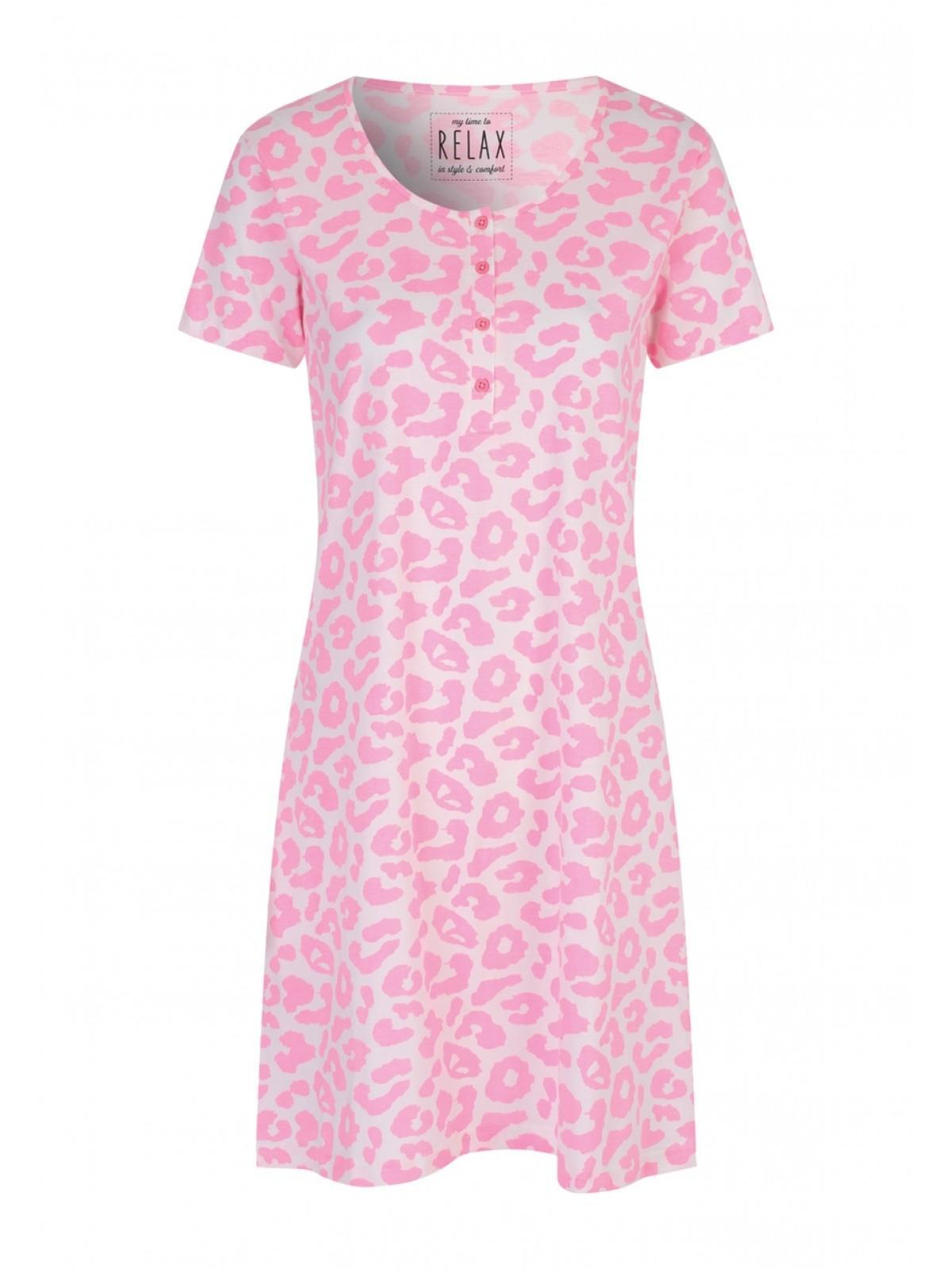 18f0fd1ae350 Home; Womens Pink Leopard Print Nightdress. Back. PreviousNext