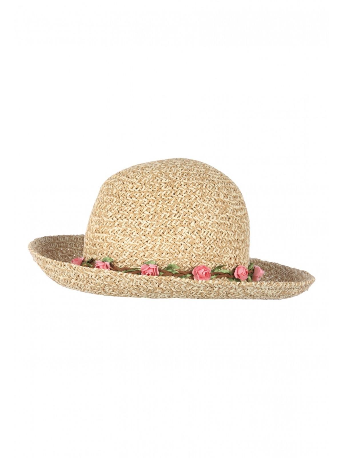 022fa96c Home; Womens Cream Garland Cloche Sun Hat. Back. PreviousNext