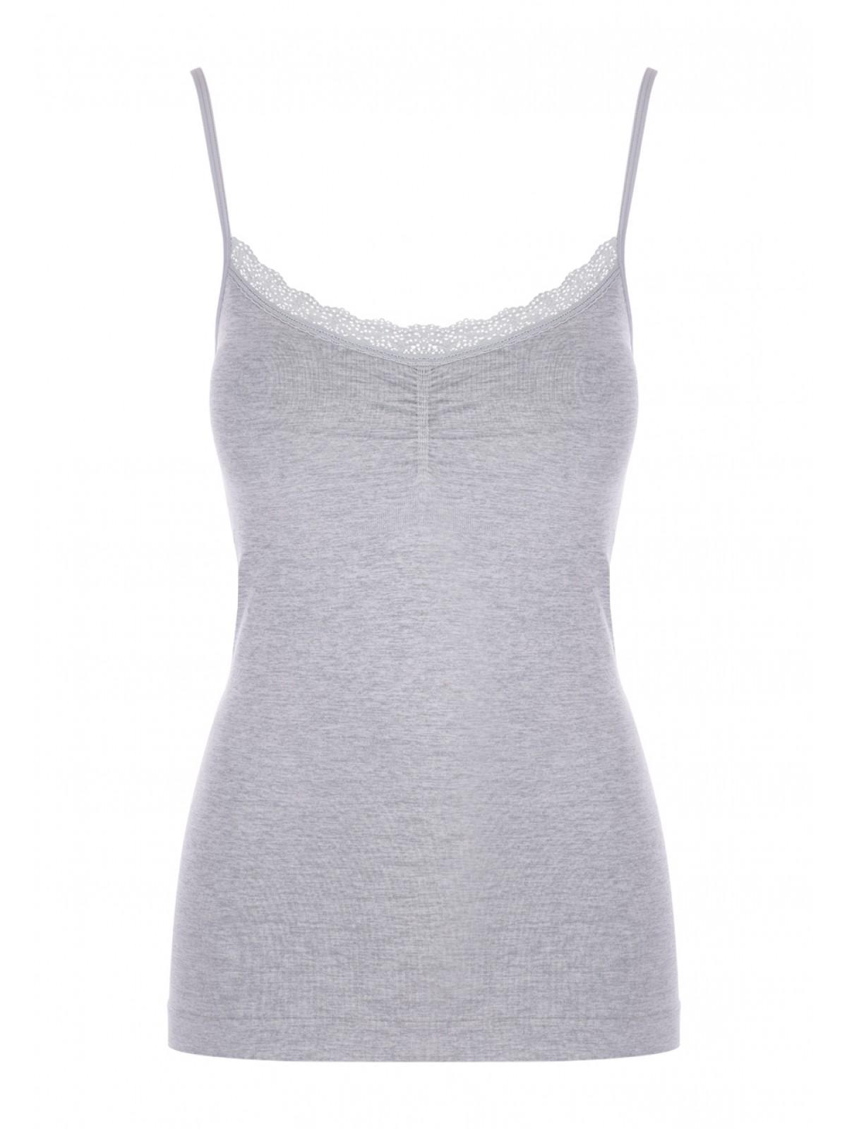 e474a40acfd5e0 Home; Womens Grey Marl Seam Free Pyjama Cami Top. Back. PreviousNext