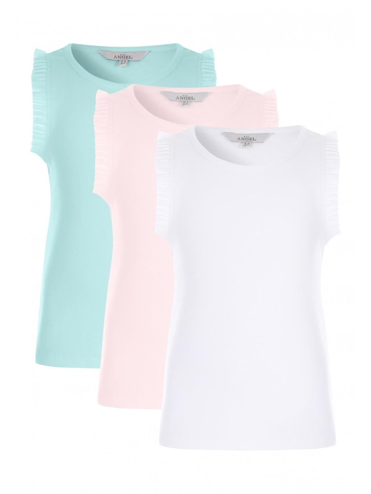 47bdf1ec272f3f Home; Younger Girls 3pk Frill Vest Tops. Back. PreviousNext