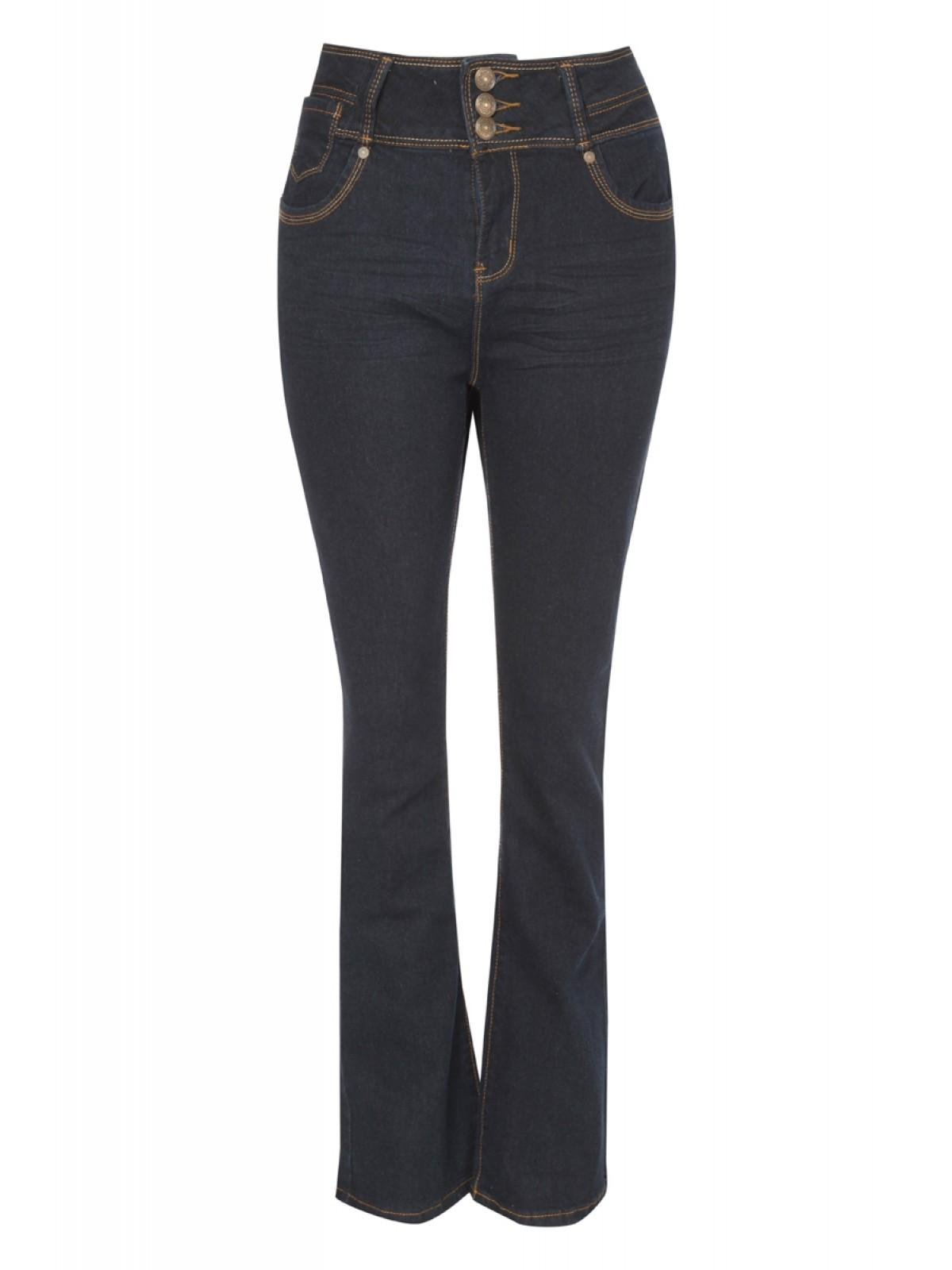 Womens High Waisted Bootcut Jeans | Peacocks