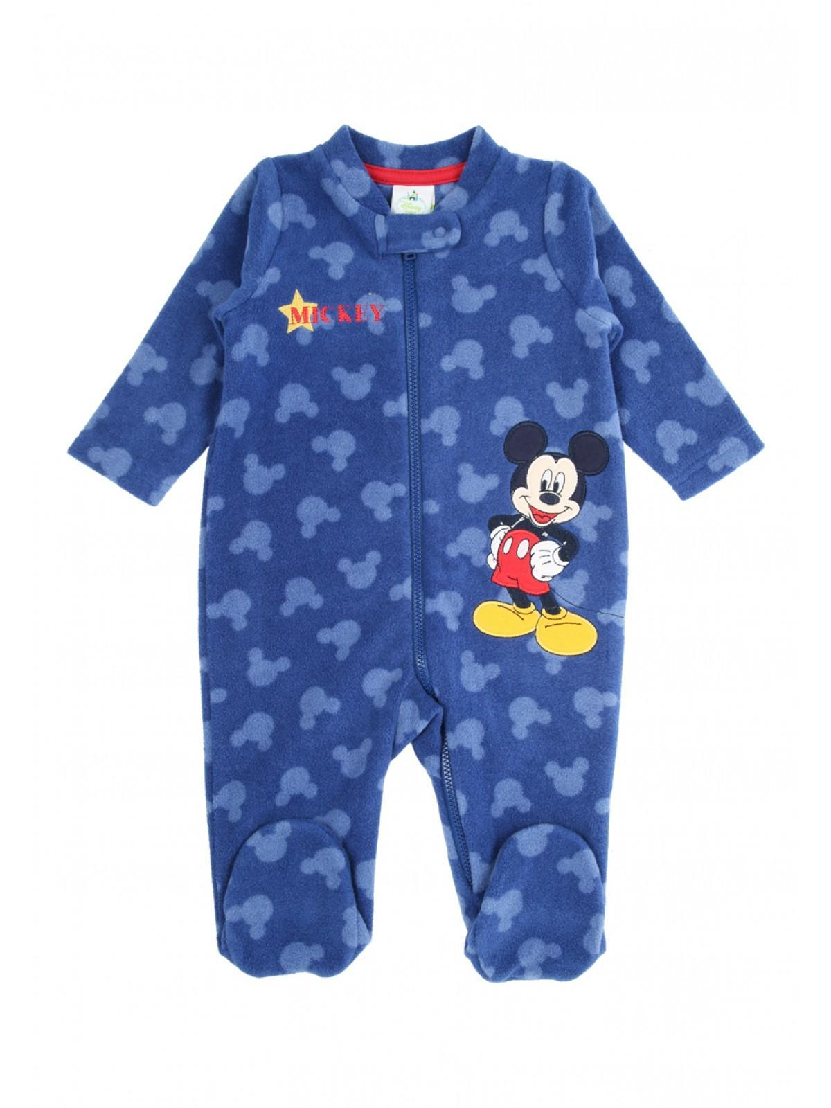 1d8be6ebd95a Boys aby Boy Mickey Fleece Sleepsuit