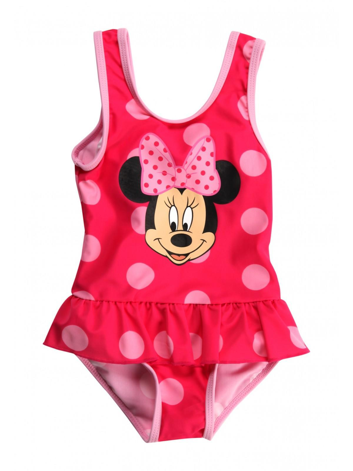 PreviousNext Zoom  sc 1 st  Peacocks & Girls Younger Girls Minnie Mouse Swimming Costume | Peacocks