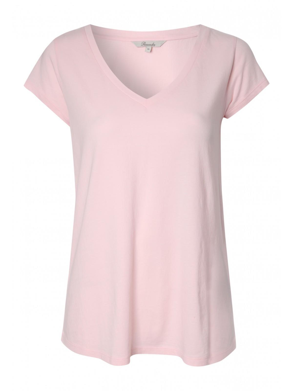 Pale Pink T Shirt