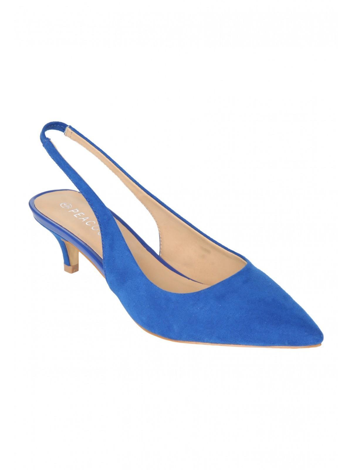 Womens Kitten Heel Slingback Shoe | Peacocks