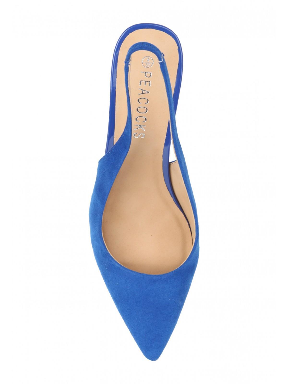 Womens Kitten Heel Slingback Shoe | Peacocks