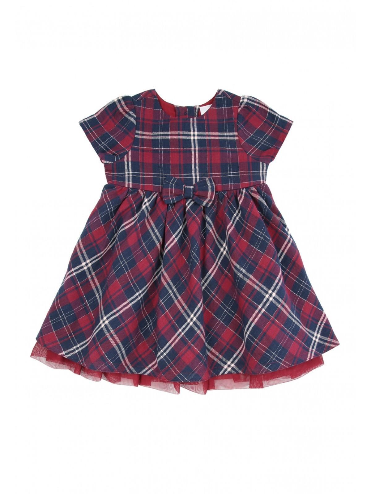 Baby Girls Tartan Dress | Peacocks