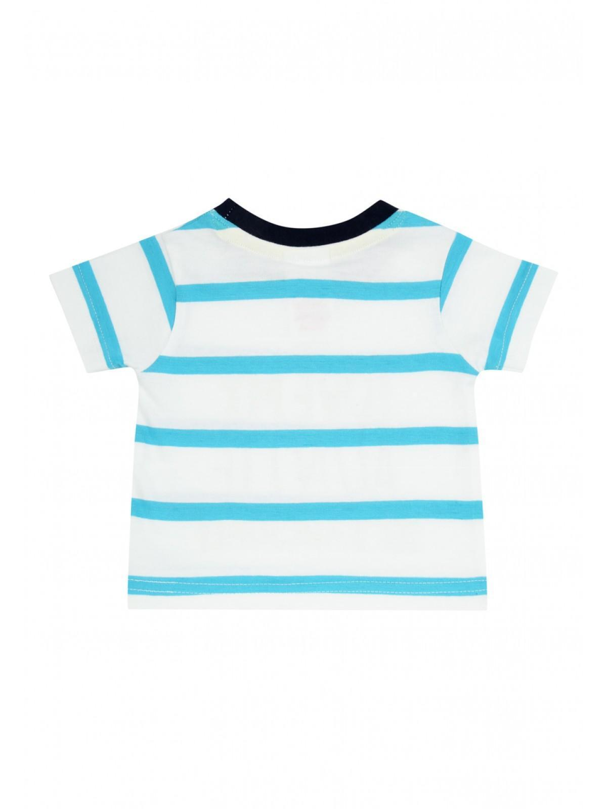 Boys aby Boys Aqua Auntie T Shirt