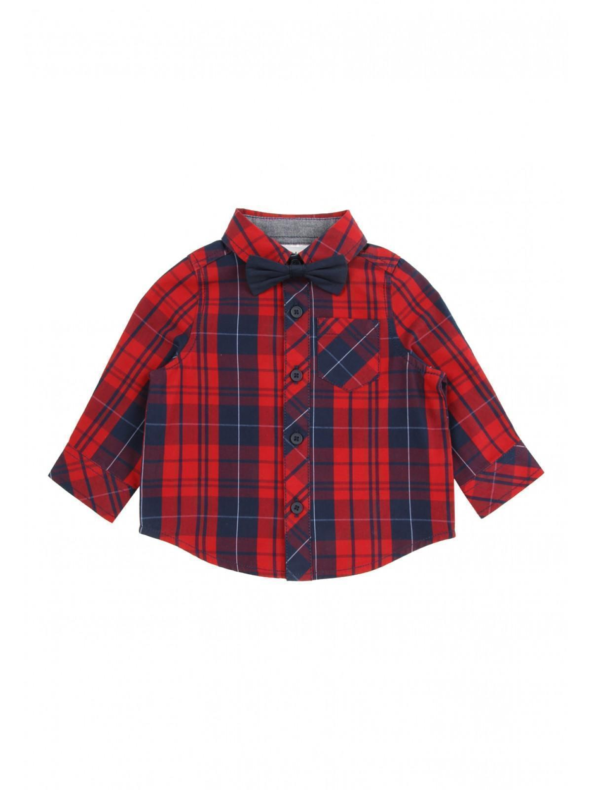 c3db1bf13a96 Home; Baby Boy Tartan Shirt And Bowtie. Back. PreviousNext