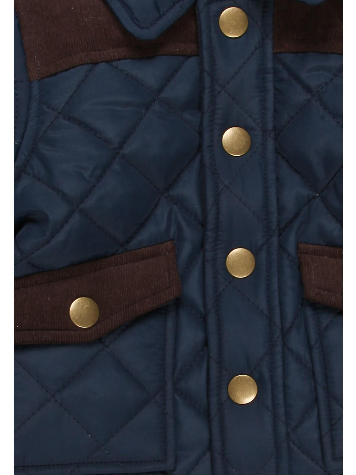 Boys aby Boys Quilted Hooded Jacket | Peacocks : baby quilted jacket - Adamdwight.com