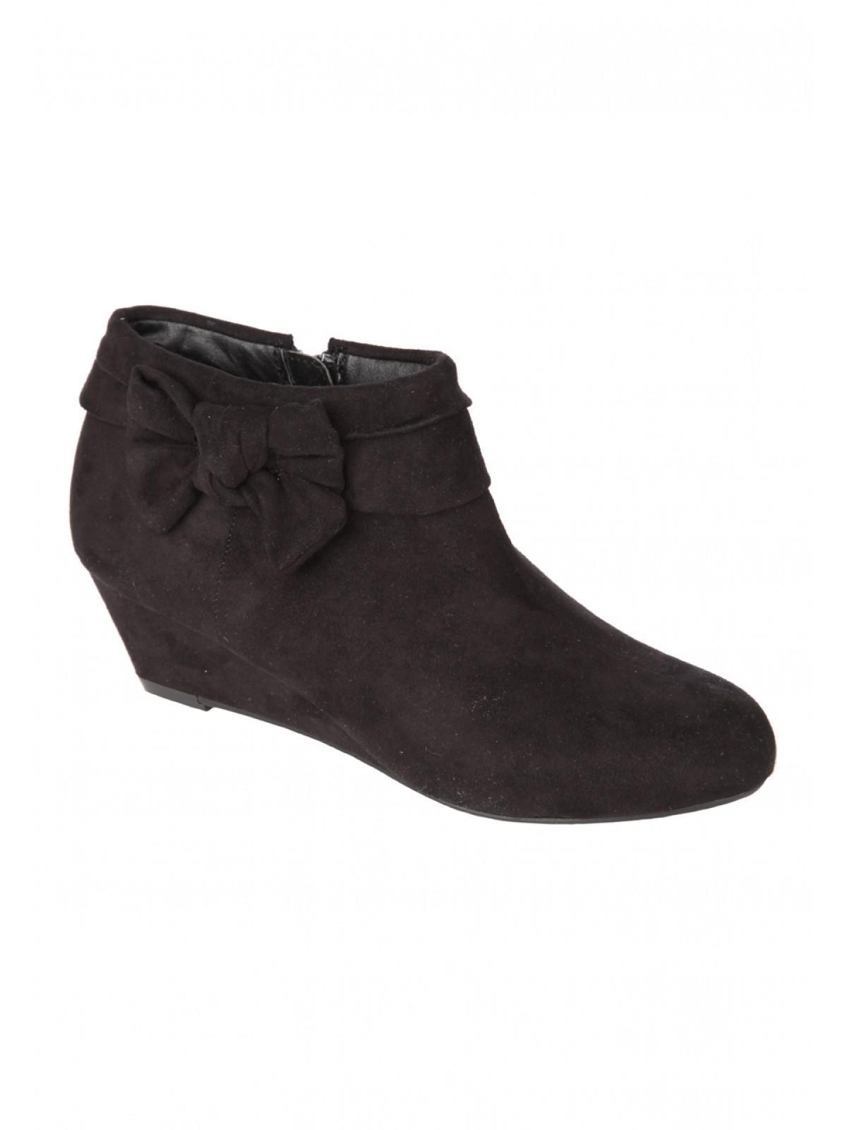Girls Older Girls Wedge Boot | Peacocks