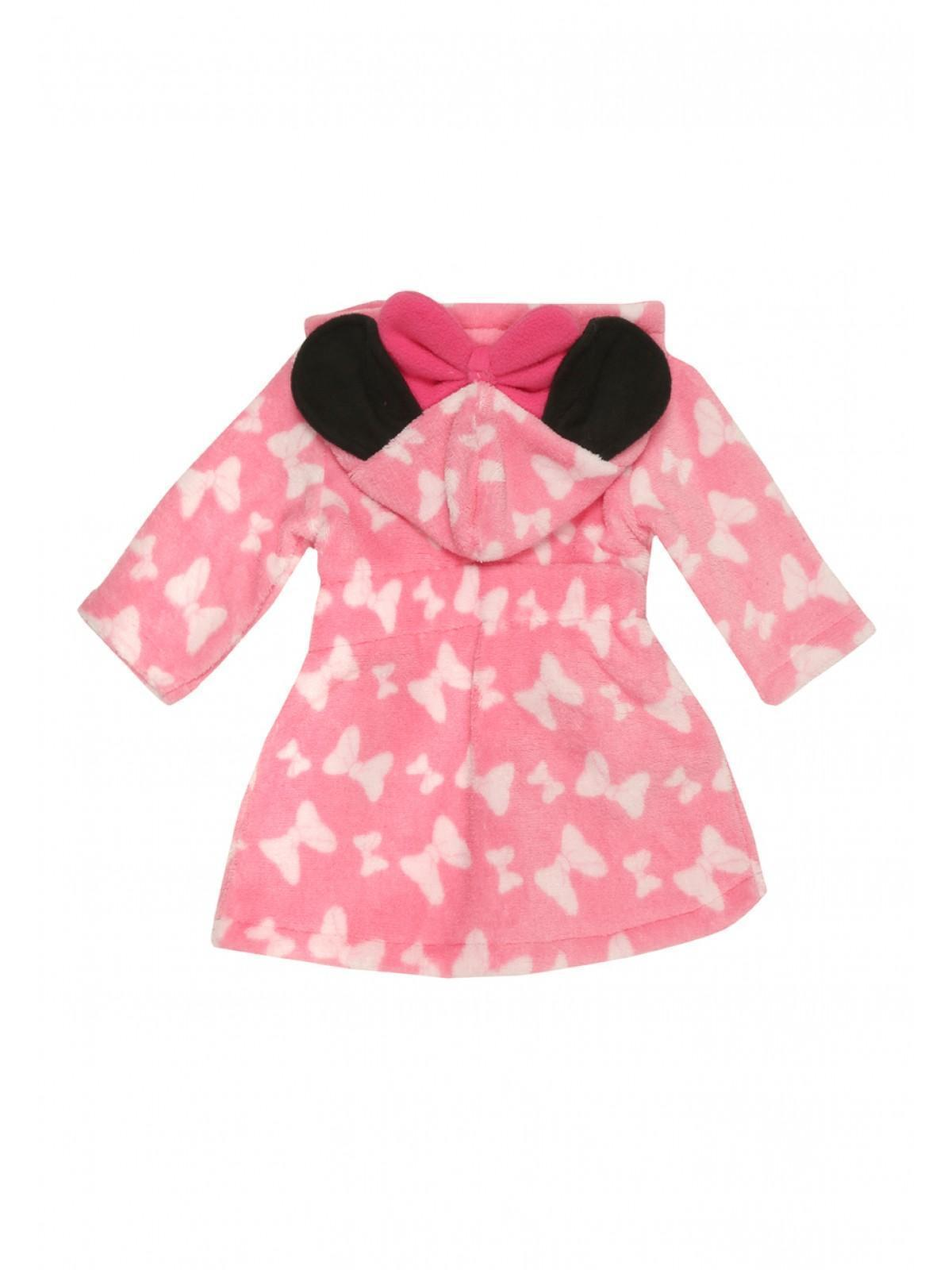 Womens Baby Girls Disney Minnie Mouse Dressing Gown & Booties ...