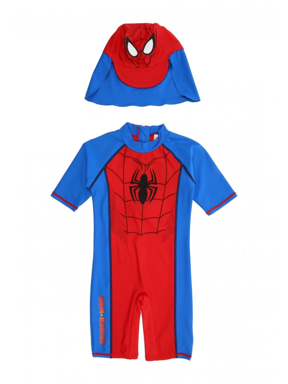 6610e7e8aba Boys Younger Boys Spiderman Sun Safe Costume   Peacocks