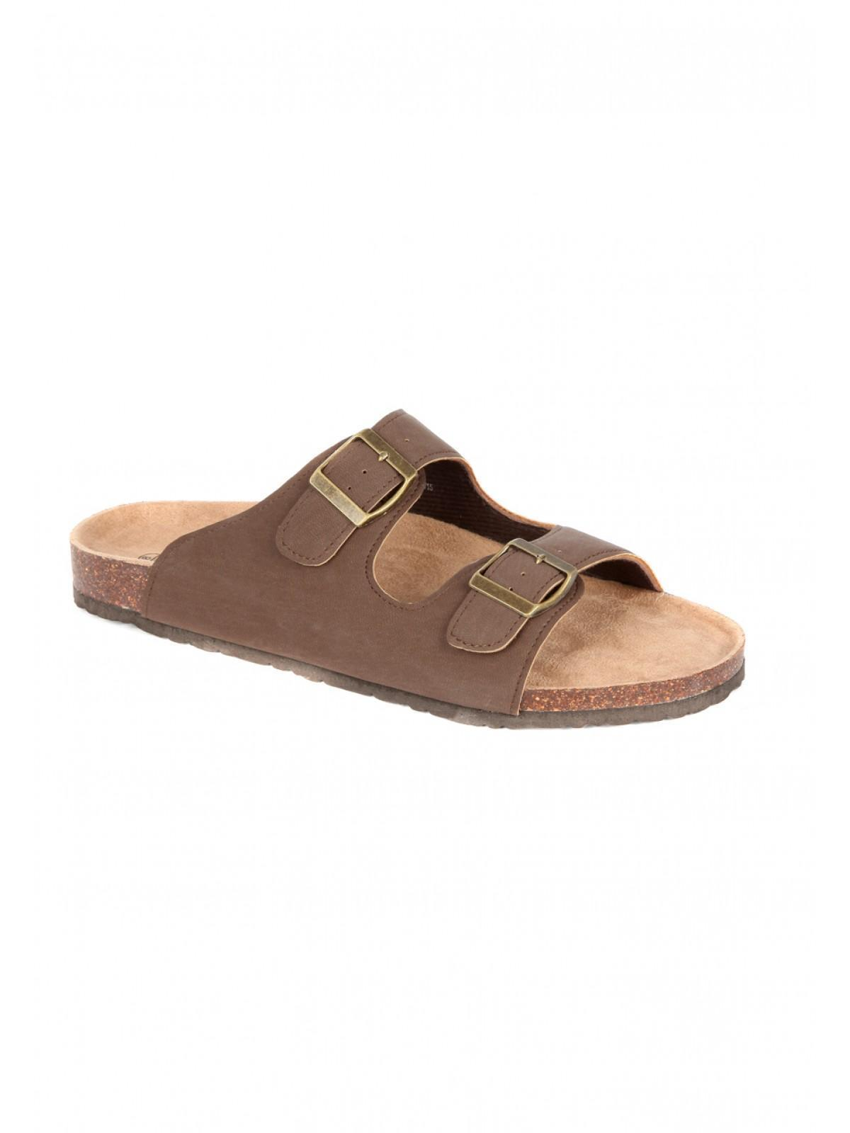 74c98bef634b Home  Mens Double Strap Footbed Sandals. Back. PreviousNext