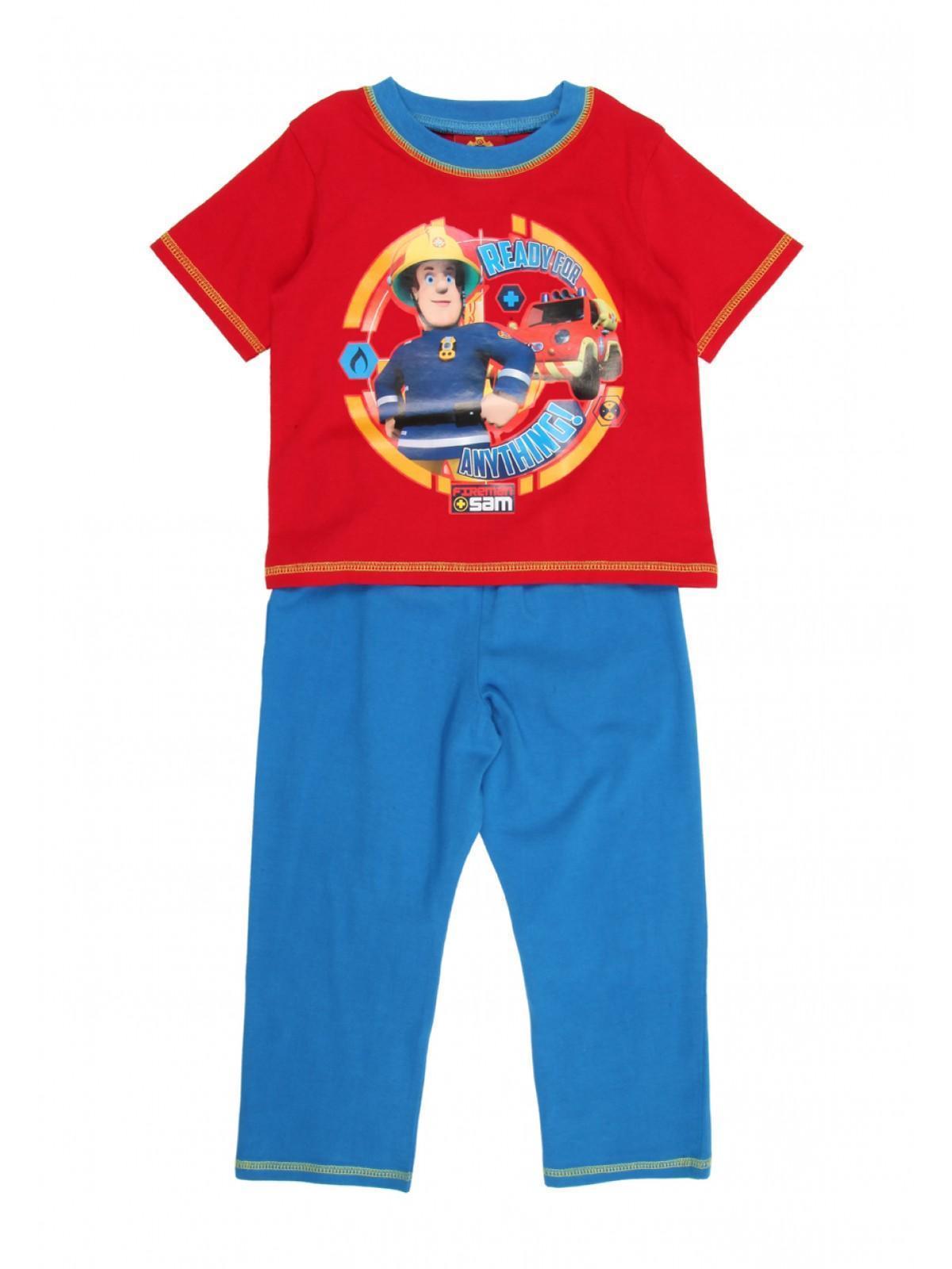 81078a12673 Mens Younger Boys Fireman Sam Pyjamas