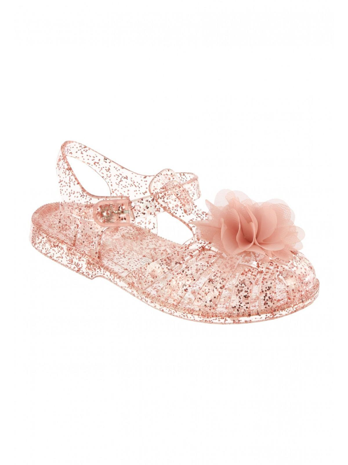 7a6df66254e Girls Younger Girls Pink Corsage Jelly Sandals