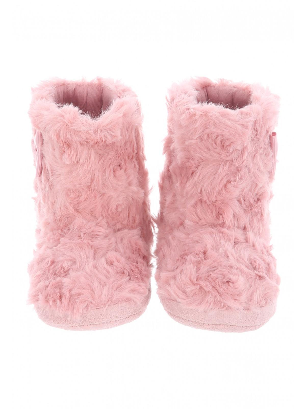 Girls Baby Girls Pink Fur Boots