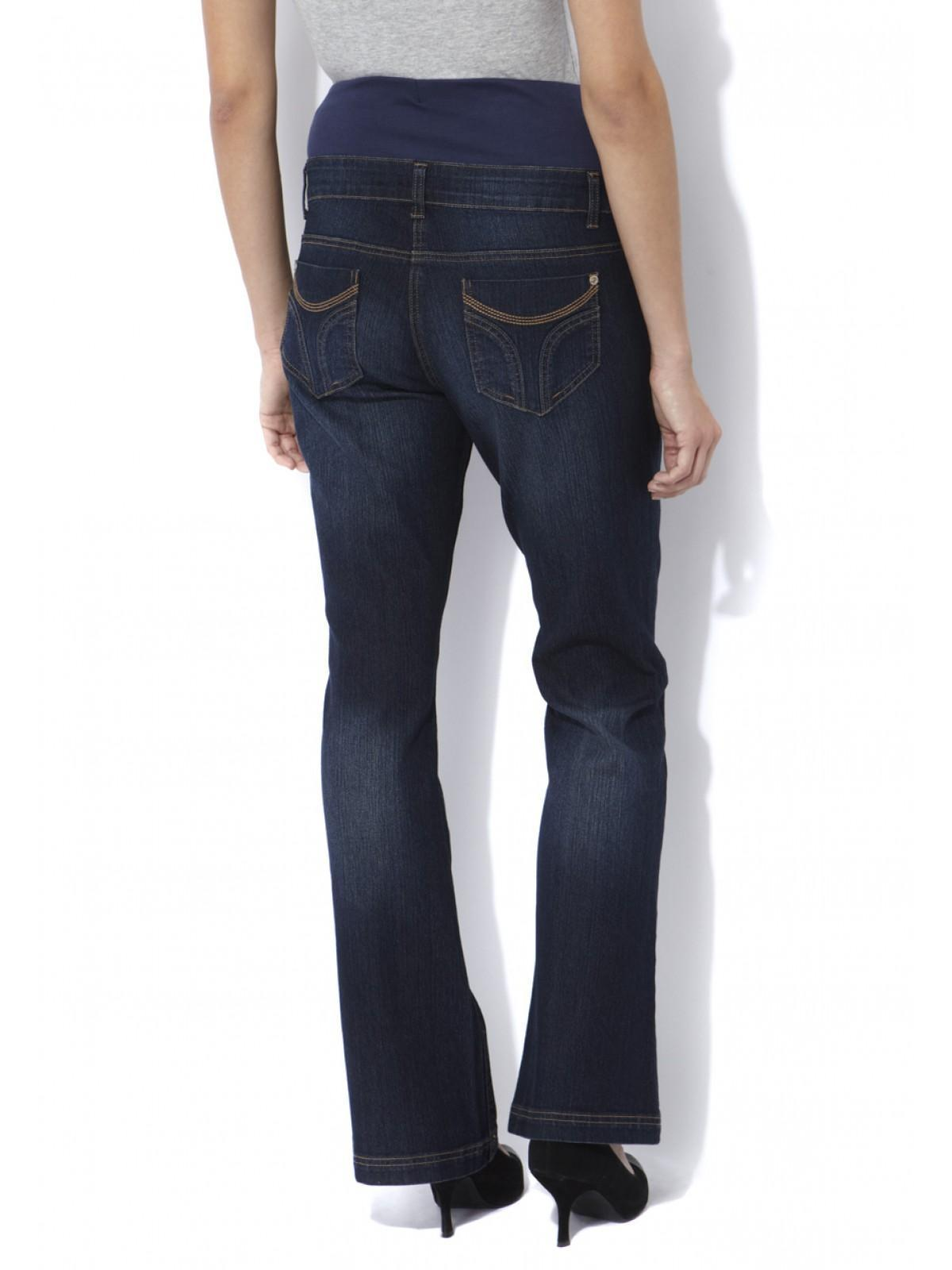 Womens Maternity Bootcut Jeans (Regular) | Peacocks