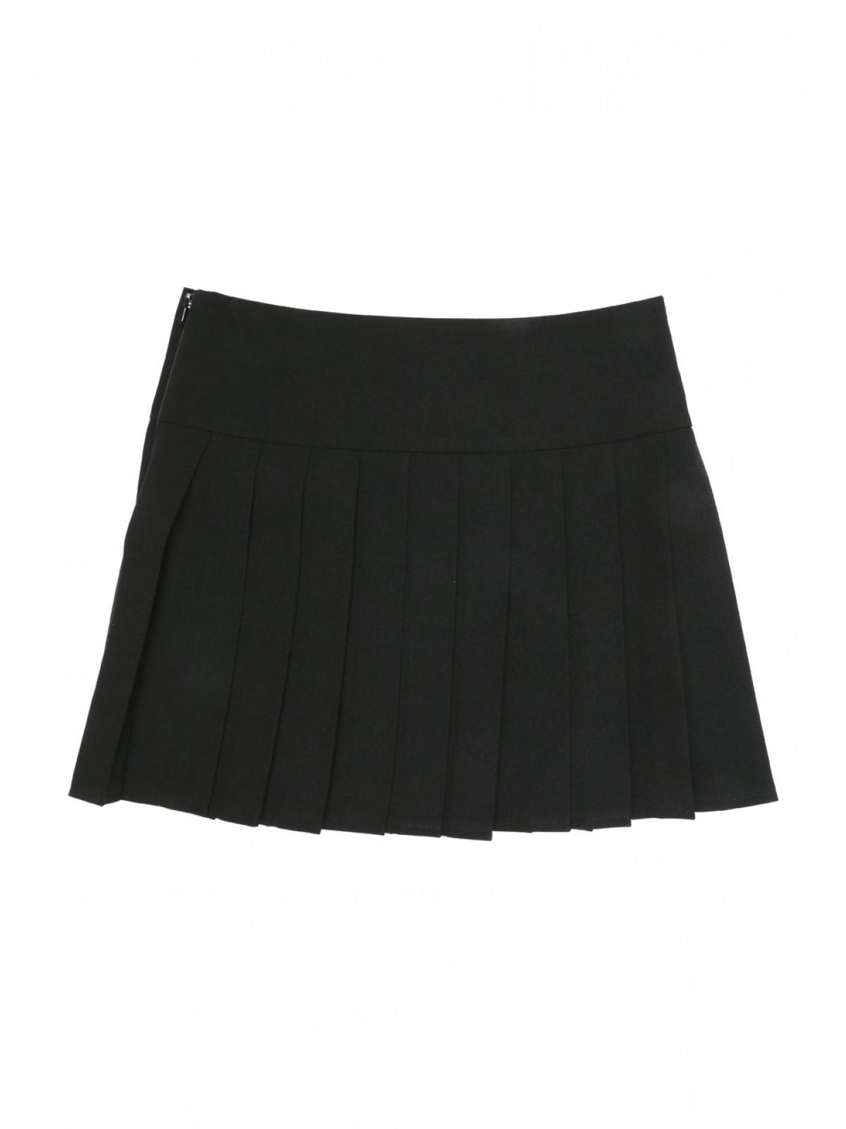 Girls Pleated School Skirt | Peacocks
