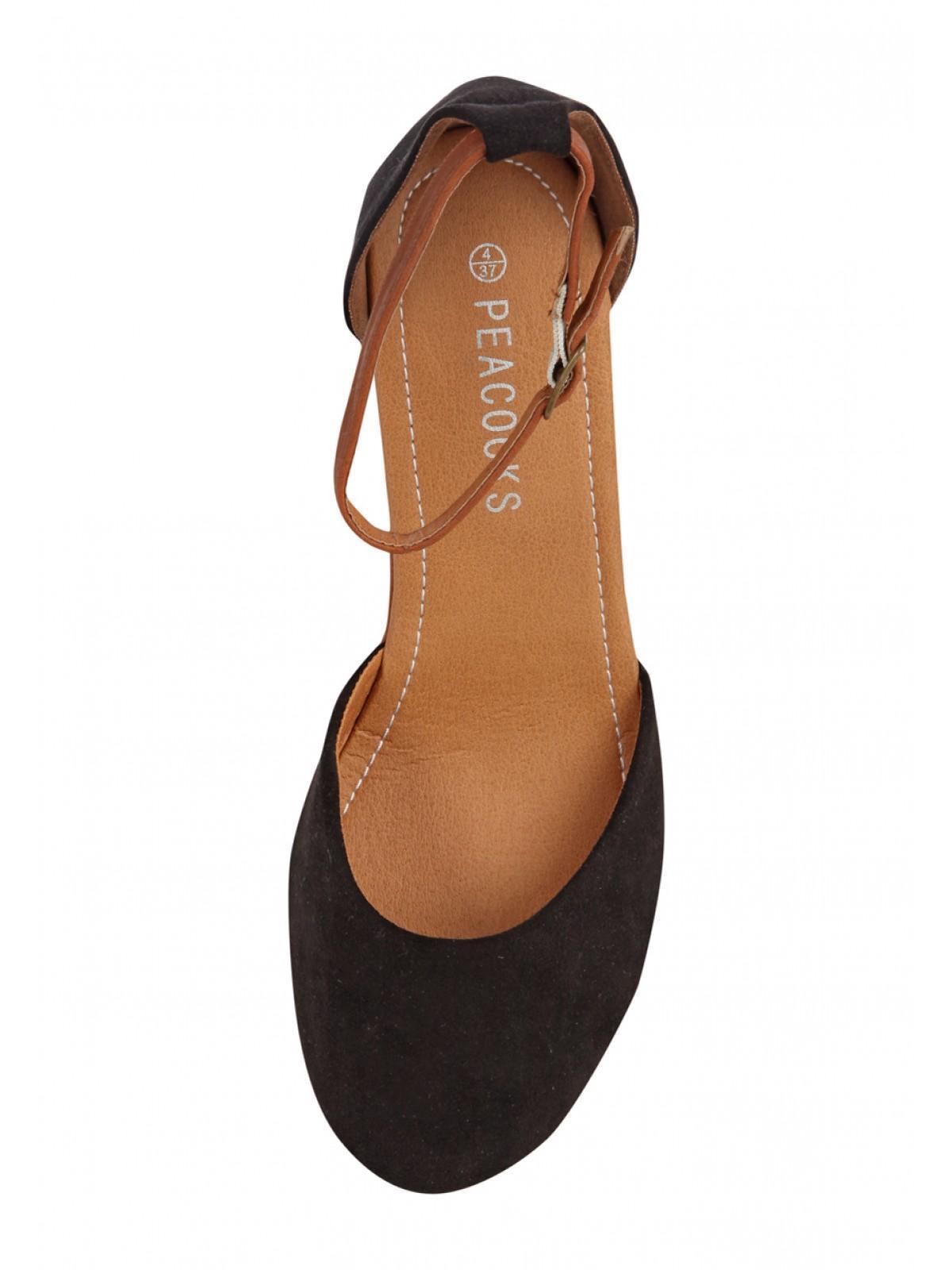 Black enclosed sandals - Previousnext Zoom
