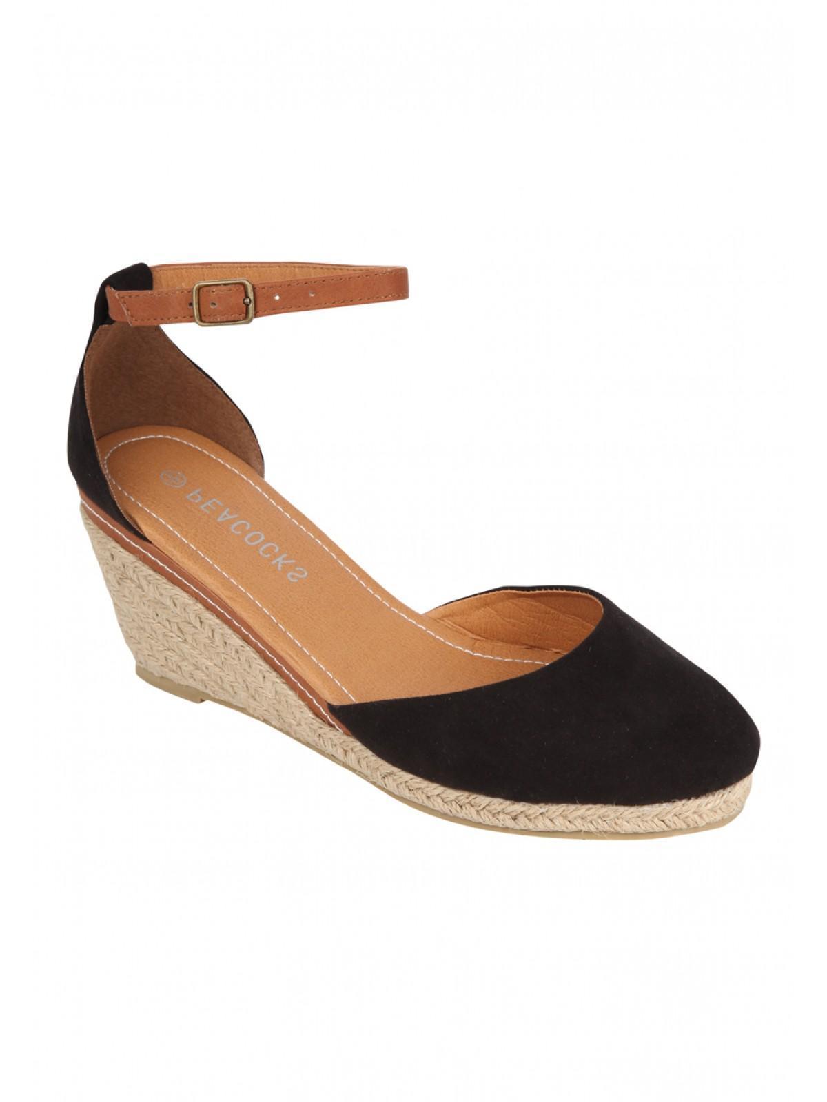 Black enclosed sandals - Black Enclosed Sandals 17