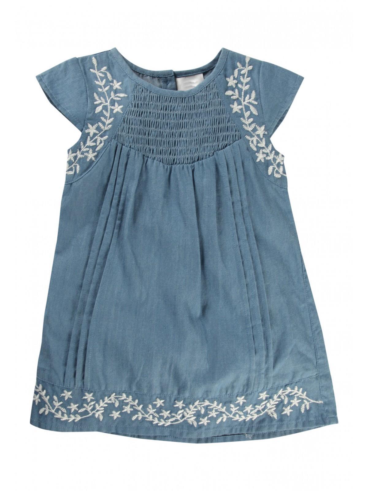 Girls Baby Girls Denim Dress