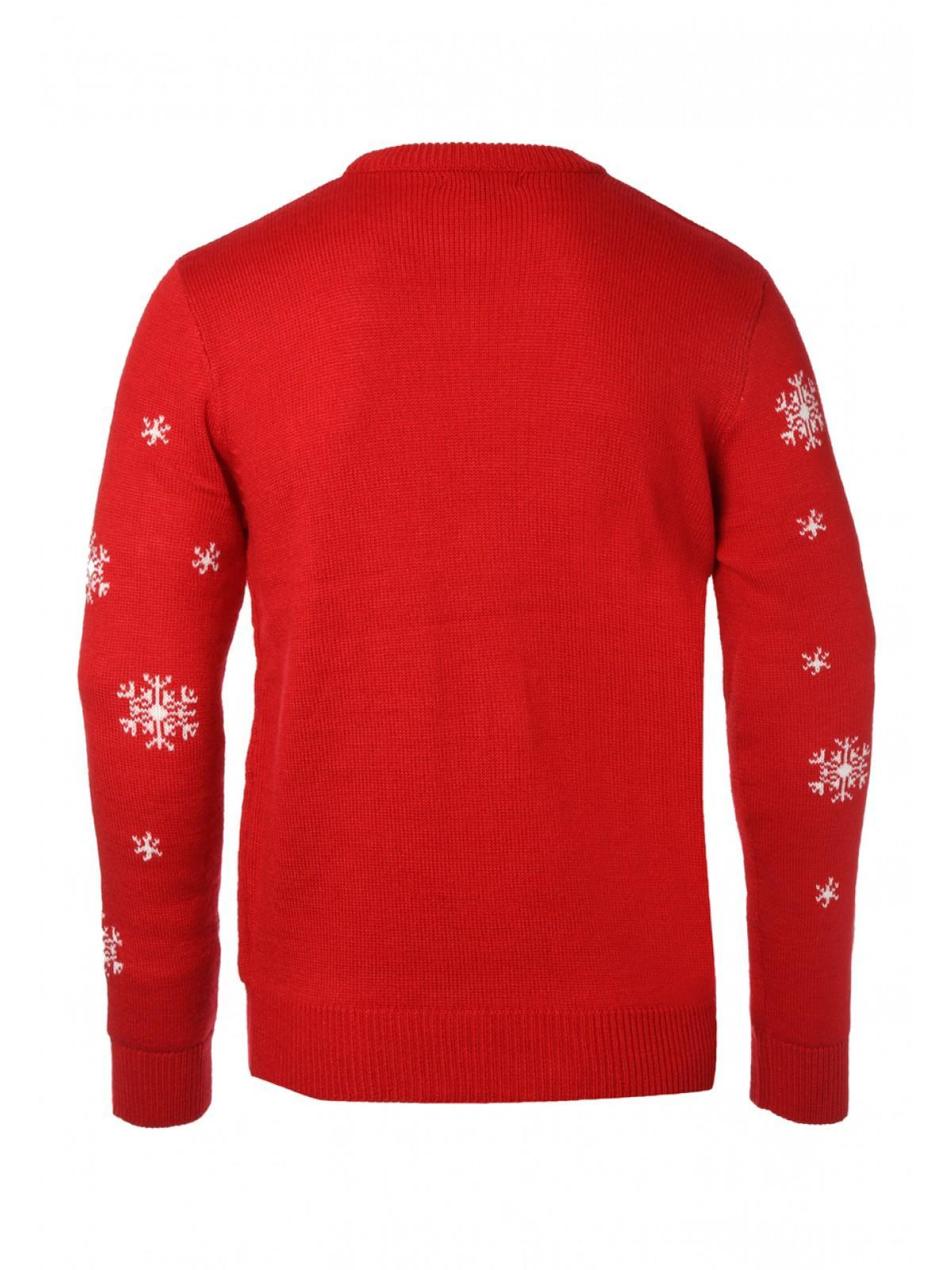 Mens Rudolph Christmas Jumper Peacocks