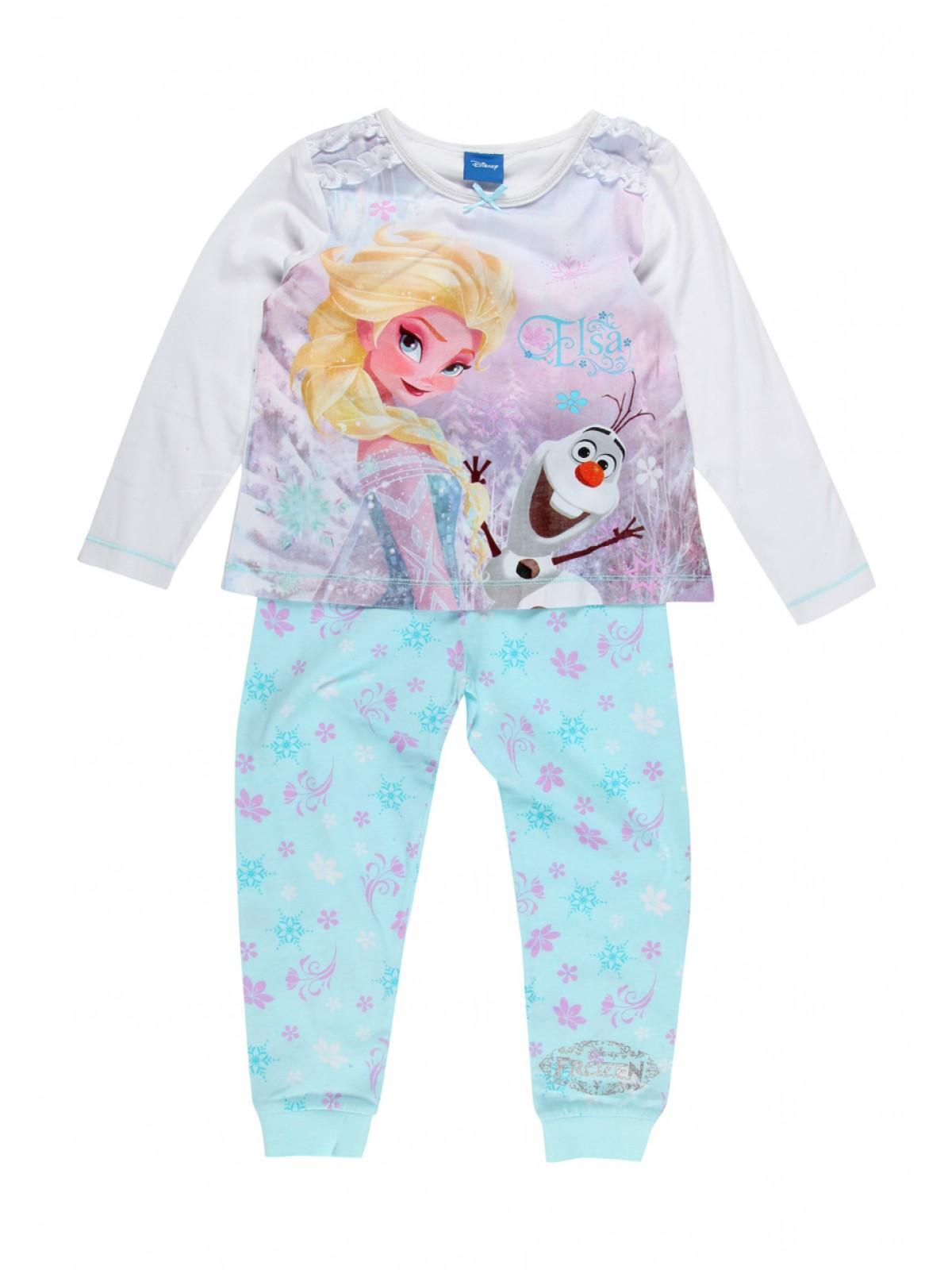Girls Disney Frozen Pyjamas | Peacocks