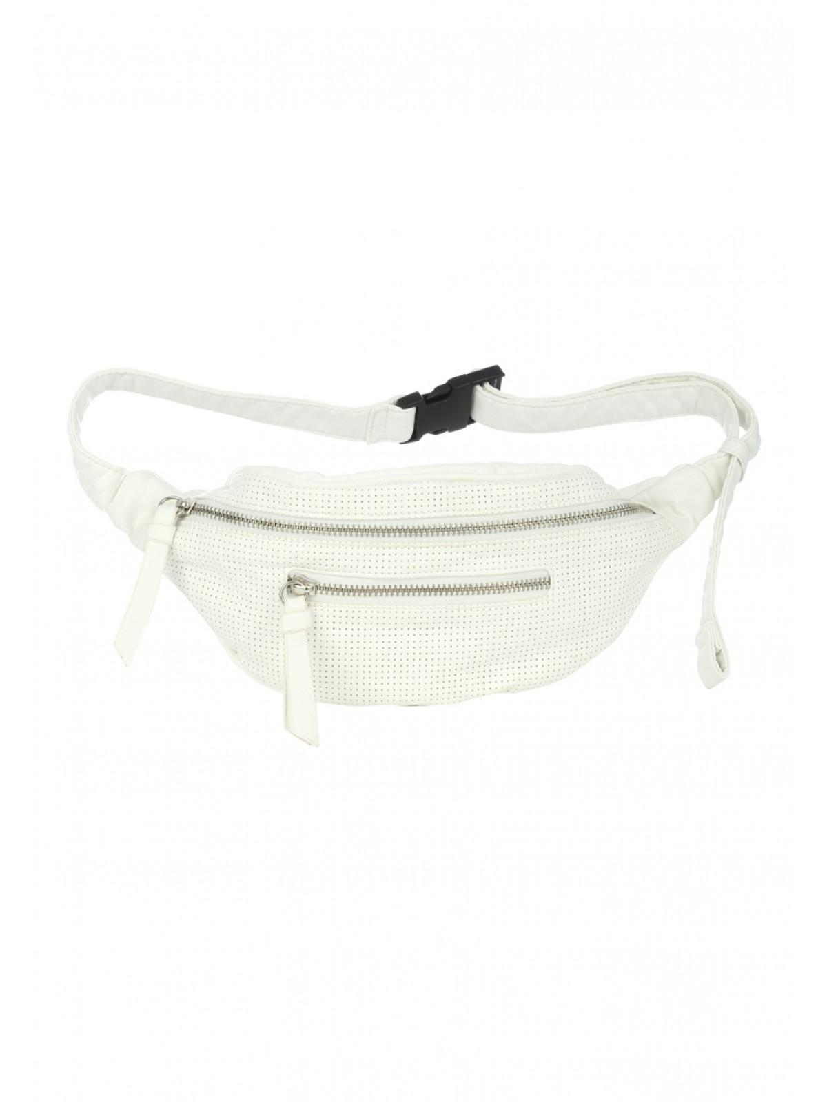 Womens White Washed Bumbag | Peacocks