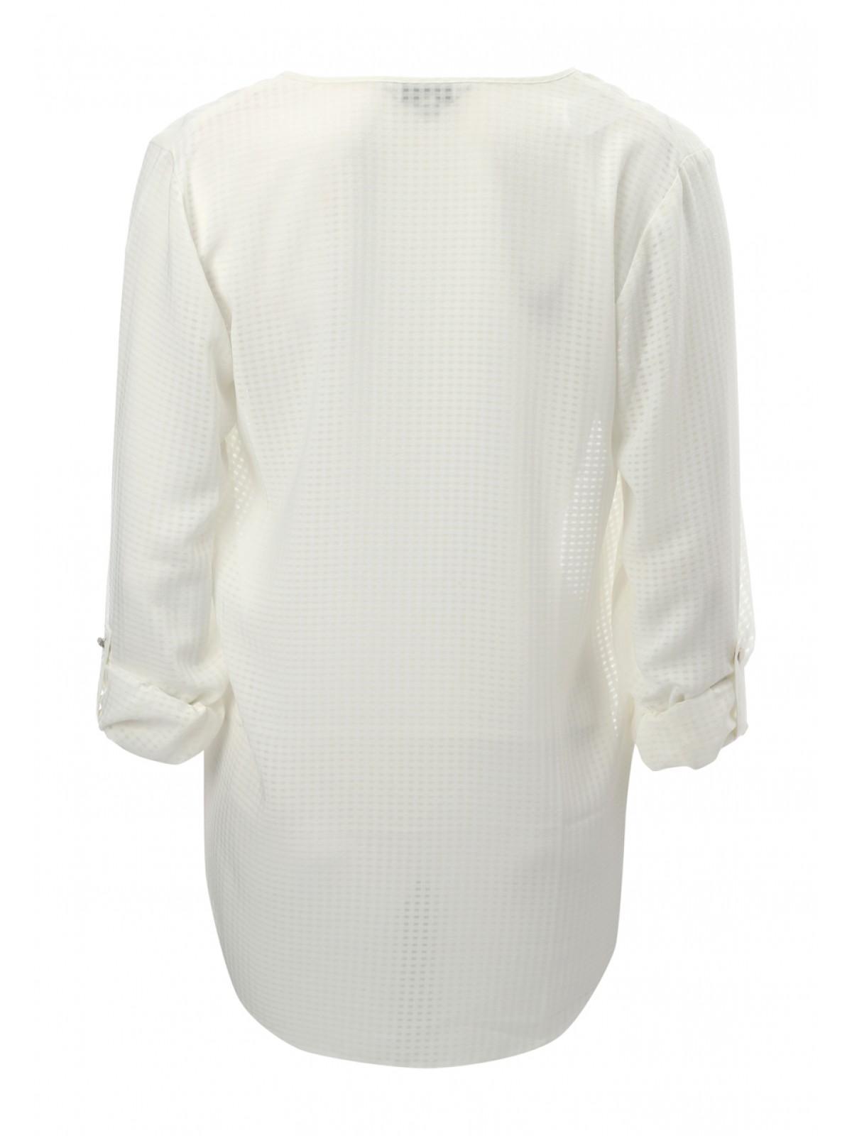 Womens White Blouses Long Sleeve