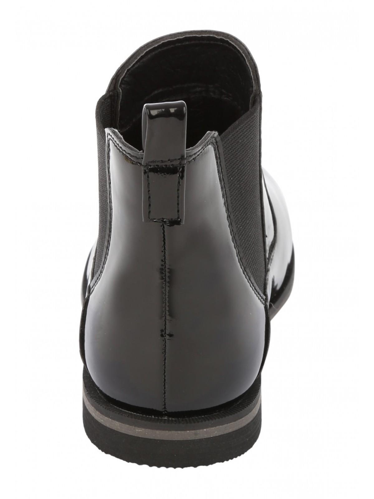 Girls Younger Girls Patent Chelsea Boots | Peacocks