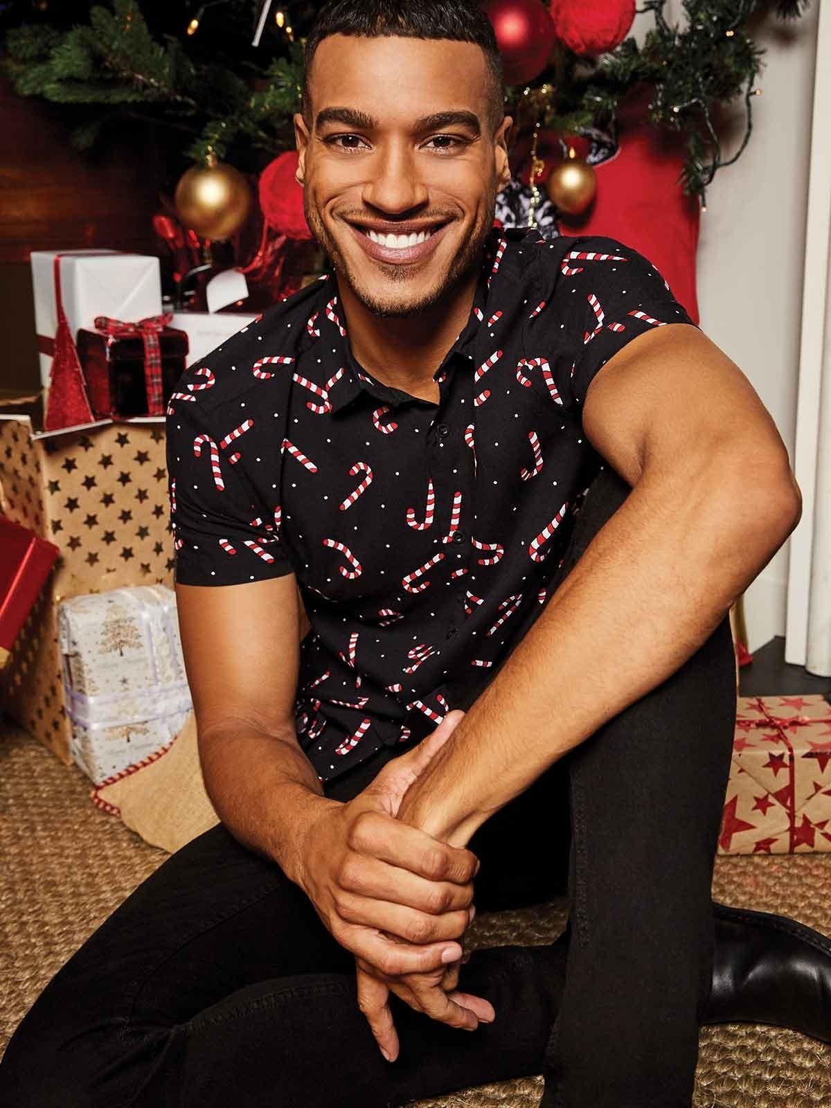A fun and festive shirt is bound to spread some Christmas cheer on NYE – and keep you looking stylish too.