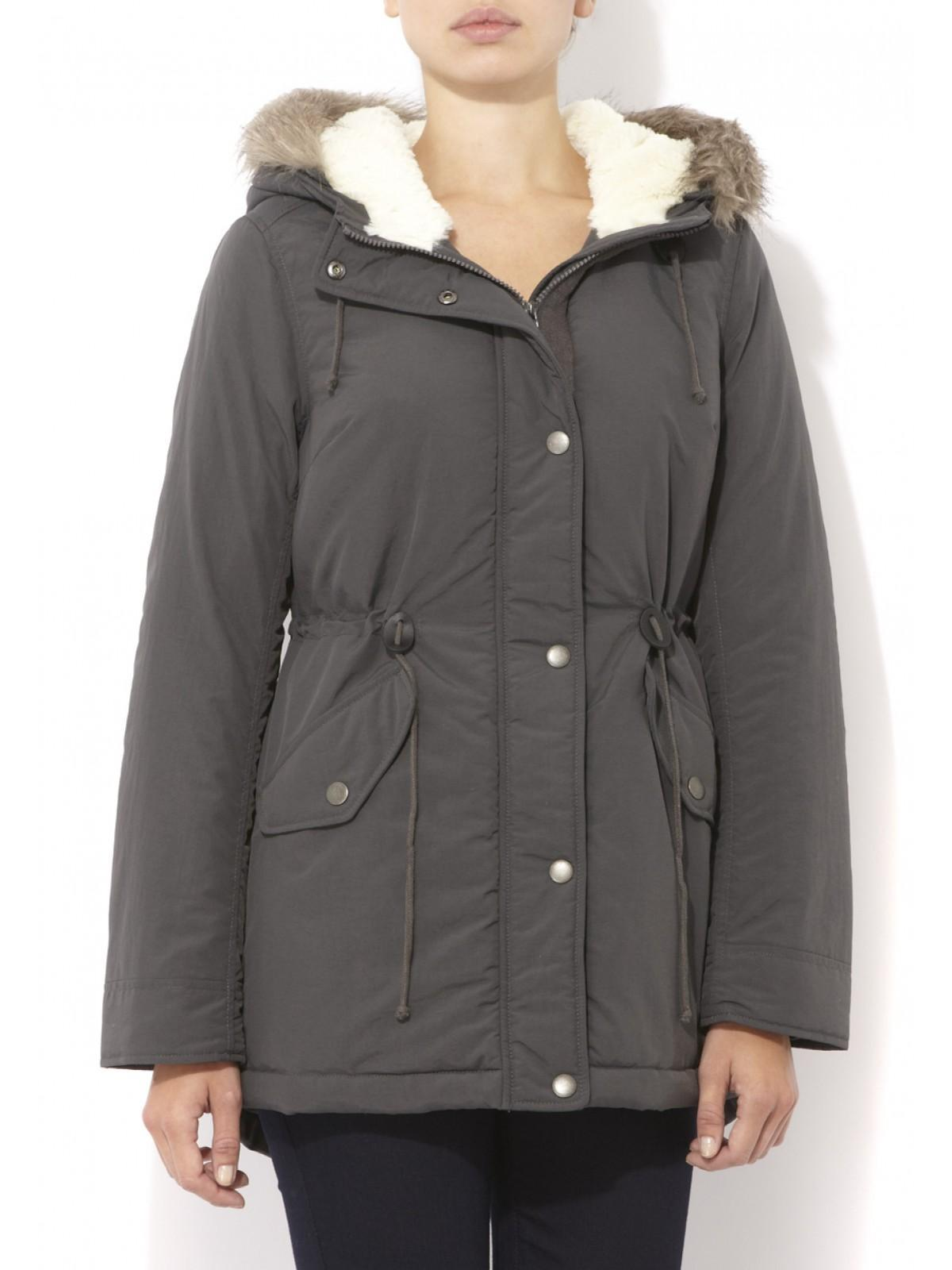 Womens Sherpa Lined Parka | Peacocks