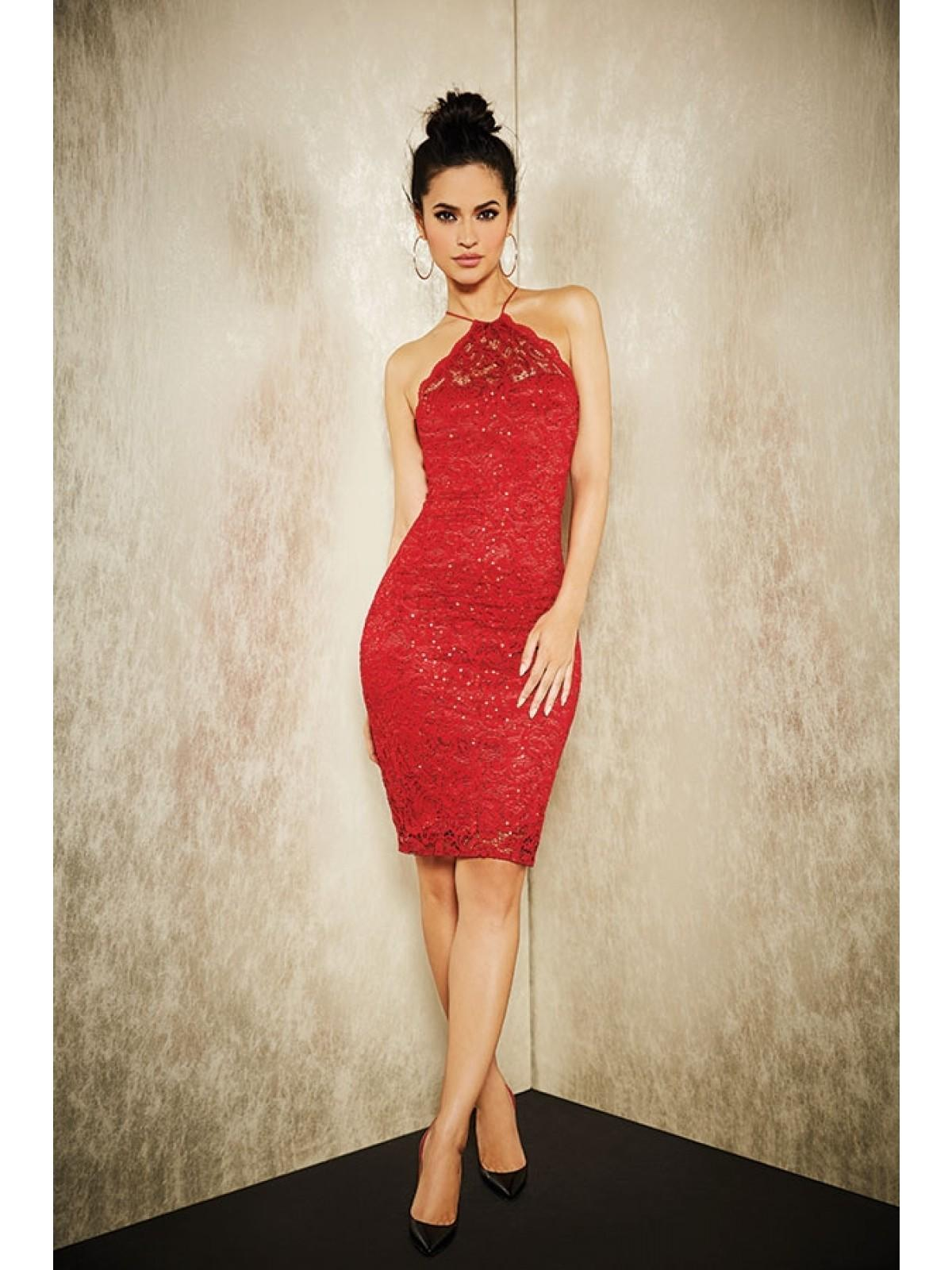 A red party dress will make you stand out on the dancefloor for all the right reasons!
